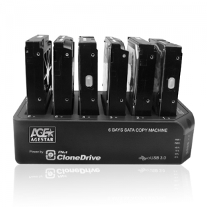 6Bay Clone Machine