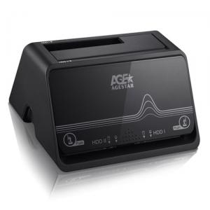 USB3.0 to 2.5&3.5 SATA HDD 2 Bay Док Станция