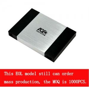 2.5''USB 2.0 Tool-free external enclosure