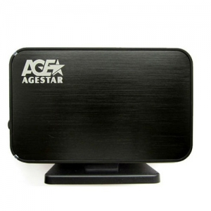 "3.5"" USB3.0 Tool-free Aluminum External Enclosure SATA 6G"