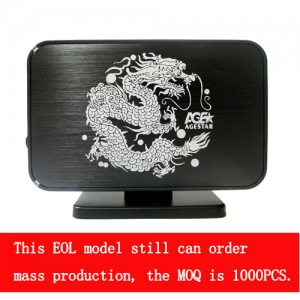 3.5  USB 3.0 Tool-free  external enclosure