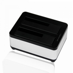 New USB 3.0 to 2.5/3.5 SATA HDD 2 Bay Docking Station